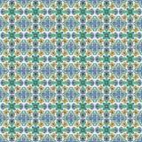 Spaanse tegels vector illustratie