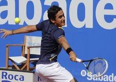Spaanse tennisspeler Nicolas Almagro Royalty-vrije Stock Fotografie