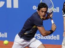 Spaanse tennisspeler Nicolas Almagro Stock Foto's