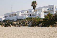 Spaanse vakantieflats Royalty-vrije Stock Afbeelding