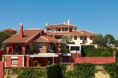 Spaanse villa Stock Afbeelding