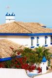 Spaanse villa Stock Foto's