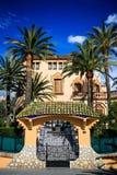 Spaanse villa dichtbij het centrum van Salou Royalty-vrije Stock Fotografie