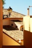 Spaanse villa. Fragment. Royalty-vrije Stock Afbeeldingen