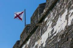 Spaanse vlag Stock Foto's