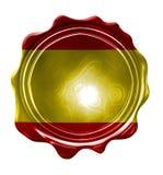 Spaanse vlag Royalty-vrije Stock Afbeelding
