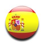 Spaanse vlag Royalty-vrije Stock Foto