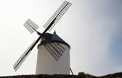 Spaanse Windmolen Stock Afbeelding