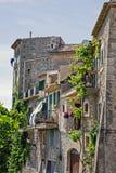 Spaanse zijstraat stock afbeeldingen