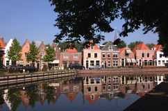 Spaarndam - Reflections Stock Image
