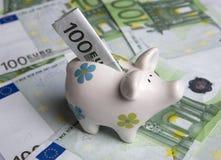 Spaarvarken Stock Foto