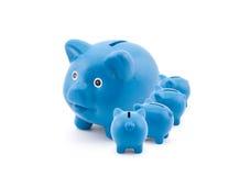 Spaarvarkens die van hun moeder voeden Royalty-vrije Stock Afbeelding