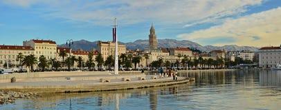 Spaccatura, Croatia Immagini Stock Libere da Diritti