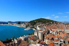 Spaccatura, Croazia - costa della cartolina Fotografia Stock