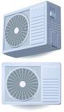 Spaccatura del condizionatore d'aria, sistema Fotografia Stock Libera da Diritti