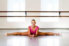 Spaccatura della ballerina fotografia stock
