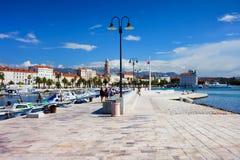Spaccatura nel Croatia fotografie stock libere da diritti