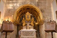 Spaccatura - palazzo dell'imperatore Diocleziano Fotografia Stock Libera da Diritti