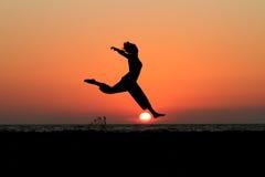 Spaccature di tramonto Fotografia Stock Libera da Diritti
