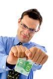 Spacchi i soldi Immagine Stock Libera da Diritti
