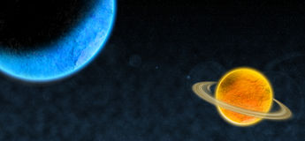 Space. This photo design by photoshop it is not real space Royalty Free Stock Images