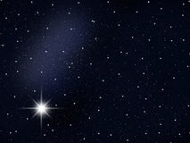 Space. The space sky. A congestion of stars. Astronomy background galaxy Royalty Free Stock Images