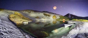 Space湖 图库摄影