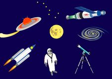 The space Stock Photography