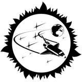 Space-7 Illustration Stock