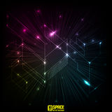 Space. Abstract background Royalty Free Stock Image