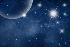 Space futuristic background Royalty Free Stock Photo