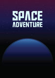 Space Adventure Abstract Background Stock Images