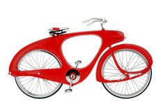 Space age retro bicycle Royalty Free Stock Photos
