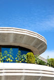 Space age style architecture in Puerto Banus Royalty Free Stock Photography