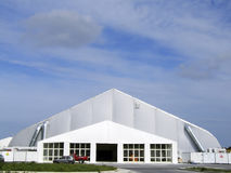 Space-Age Tent Stock Image