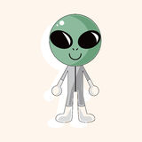 Space alien theme elements vector,eps Stock Image