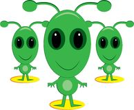 Space Aliens Stock Images