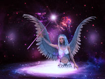 Space angel Royalty Free Stock Photos