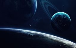 Science fiction art. Beauty of deep space. Elements of this image furnished by NASA stock image