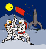 Space astronaut Stock Images