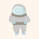 Space Astronaut theme elements vector, eps10 Stock Photos