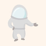 Space Astronaut theme elements vector, eps10 Royalty Free Stock Images