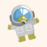 Space astronaut theme elements Stock Photography
