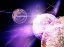 Space background Stock Images