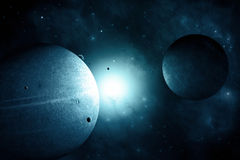 Space Background Royalty Free Stock Images