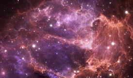 Space background with abstract nebula and stars Stock Photos