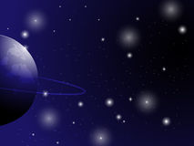 Space background. EPS 10 Vector Royalty Free Illustration