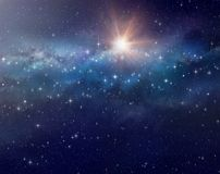 Space background Galaxy Royalty Free Stock Photography