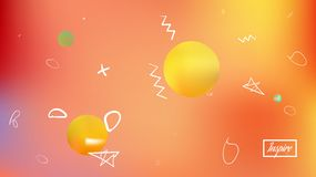 Astonomic abstract space background picture smooth. vector illustration