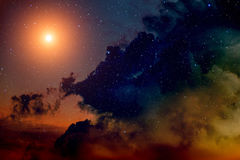 Space background. Royalty Free Stock Photos